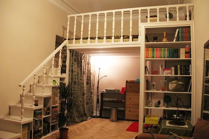 Как сделать второй этаж в квартире своими руками